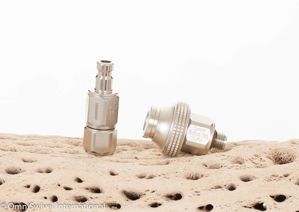 Quick Disconnect Set: Big Nut & Check Valve