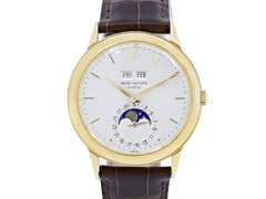 Patek Philippe 3448 Wristwatch with Leather Band