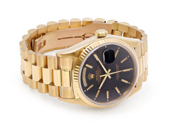 Rolex President Day-Date 18038 Watch in 18K Yellow Gold