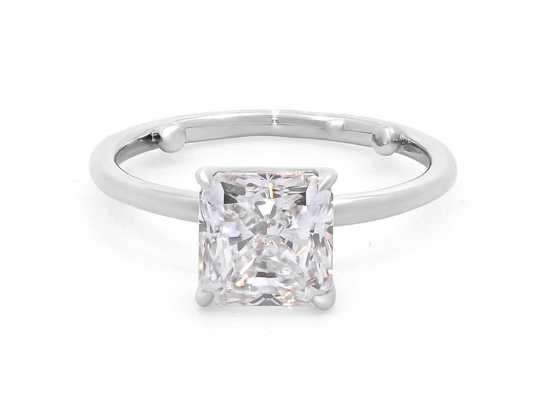 Kazanjian Radiant Cut Diamond, 2.03 carats, Ring in Platinum