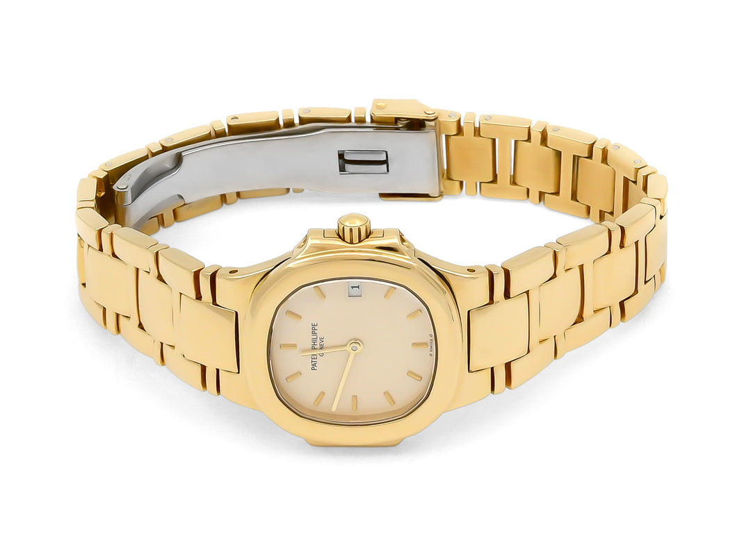 Patek Philippe Nautilus Ladies Watch in 18K Yellow Gold