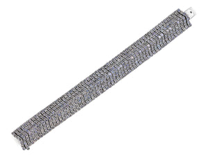 Kazanjian Diamond Bracelet in 18K White Gold