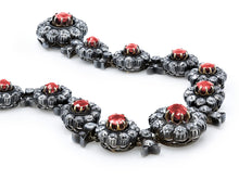Load image into Gallery viewer, Kazanjian Antique Victorian Era Ruby & Diamond Bracelet in Platinum & 18K White Gold