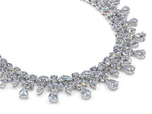 Load image into Gallery viewer, Kazanjian Edwardian Inspired Diamond Necklace in Platinum