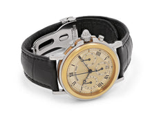 Load image into Gallery viewer, Breguet Marine Classique Chronograph Automatic Watch with Leather Strap
