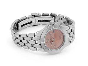 Patek Philippe Ladies Neptune Watch with Salmon Dial in Stainless Steel