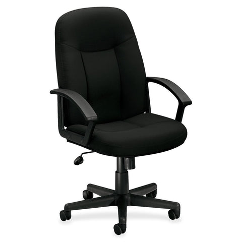 Basyx by HON VL601VA10 Mid Back Management Chair - Fabric - Email Promo