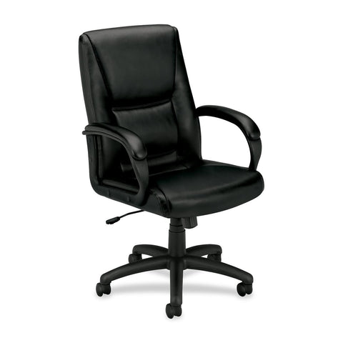 Basyx by HON VL161 Mid Back Loop Arm Management Chair