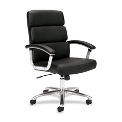 Basyx by HON VL103SB11 Executive Adjustable Height Work Chair - Email Promo