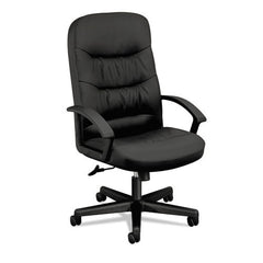 Basyx by HON VL641SB11 High Back Swivel/Tilt Chair - Leather - Email Promo
