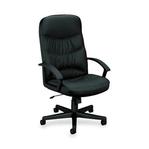 Basyx by HON VL641 High Back Executive Chair - Leather - Email Promo