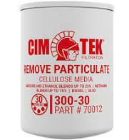 Cim-Tek 300-30 Fuel Filter-12 pack
