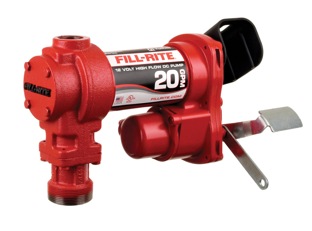 Fill-Rite 4204H Fuel Transfer Pump-12 Volt (20 GPM)-PUMP ONLY