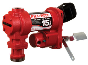 Fill-Rite 604H Fuel Transfer Pump-115 Volt (15 GPM)-PUMP ONLY