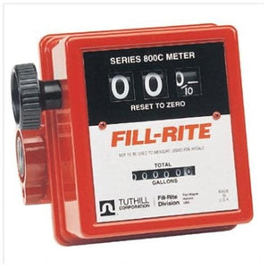 Fill-Rite 807C1 Fuel Transfer Pump Meter-Mechanical (5-20 GPM)