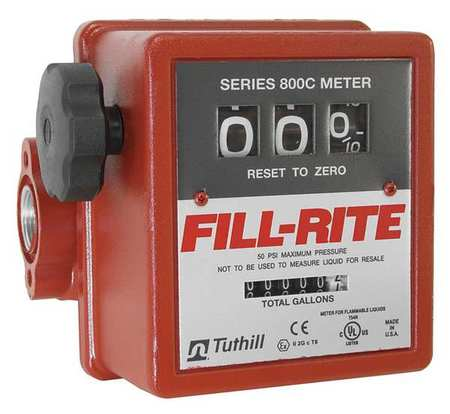 Fill-Rite 807C Fuel Transfer Pump Meter-Mechanical (5-20 GPM)