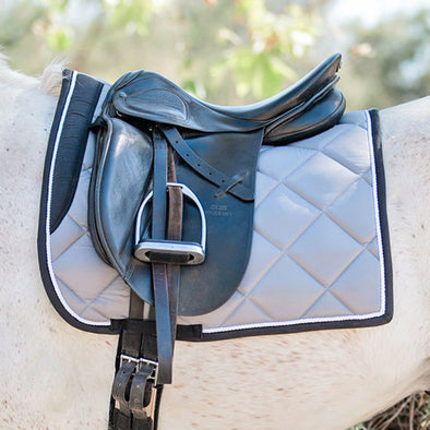 Standard Collection Gray Dressage Pad