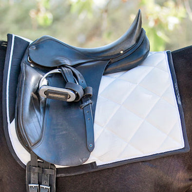 Standard Collection White Dressage Pad