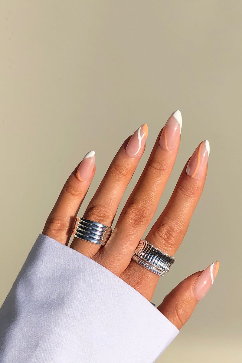 Sterling Silver Triple Ring Set