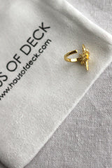 18k Gold Plated Star Ear Cuff