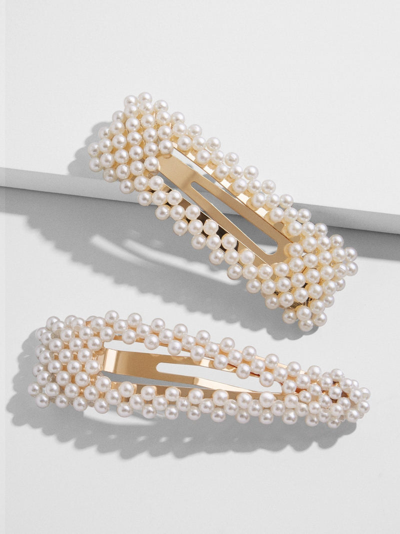 Pearl Hair Slides Set HAUS OF DECK