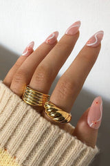 18k Gold Plated Twist Ring