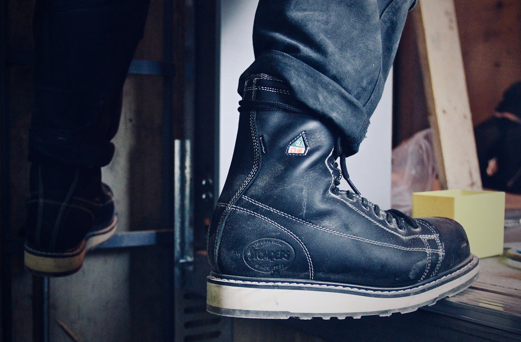 The Jobsite boot: Ironworker, lace-to-toe style, backed with some serious tech.