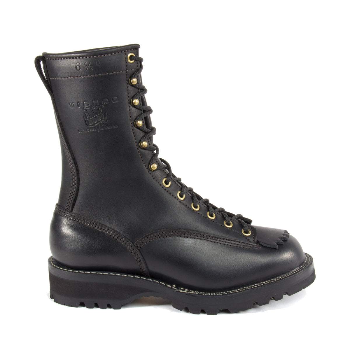Viberg Rigger Work Boots With Sierra Sole Workboot