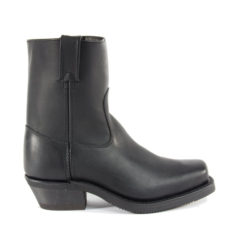 Biker Boot Side Zip
