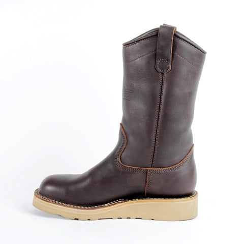 "Wellington 11"" Brown CSA Boot"