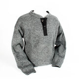 Grey Henley Sweater