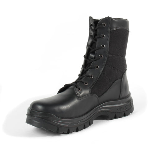 "Tactical Force 8"" Black Boot"