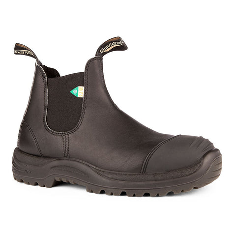 Greenpatch Toe Cap CSA Boot Black