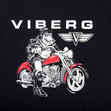 Viberg Shirt Red Motorcycle Art