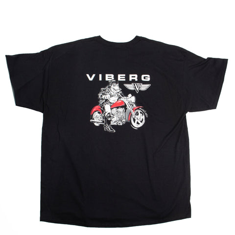 Viberg Shirt Red Motorcycle
