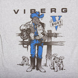 Viberg cowboy t-shirt back art