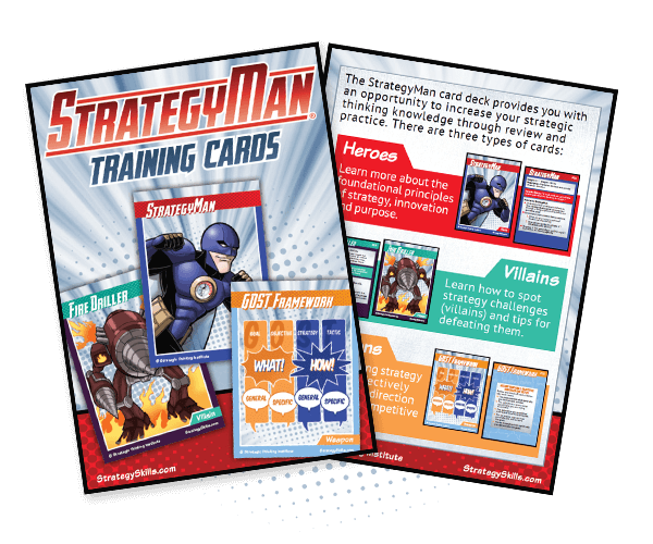 StrategyMan Training Cards