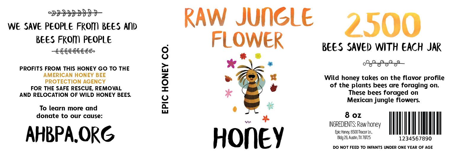 Jungle Mountain Flower Honey