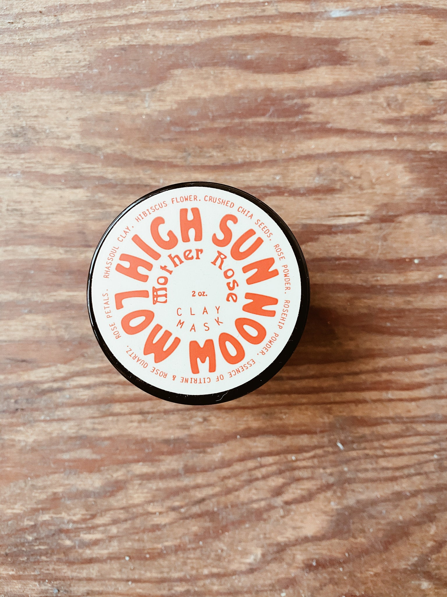High Sun Low Moon ~ Face Mask