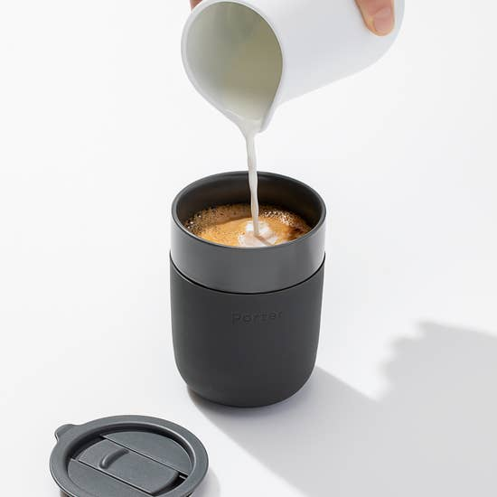 Ceramic Portable To Go Mug with Lid