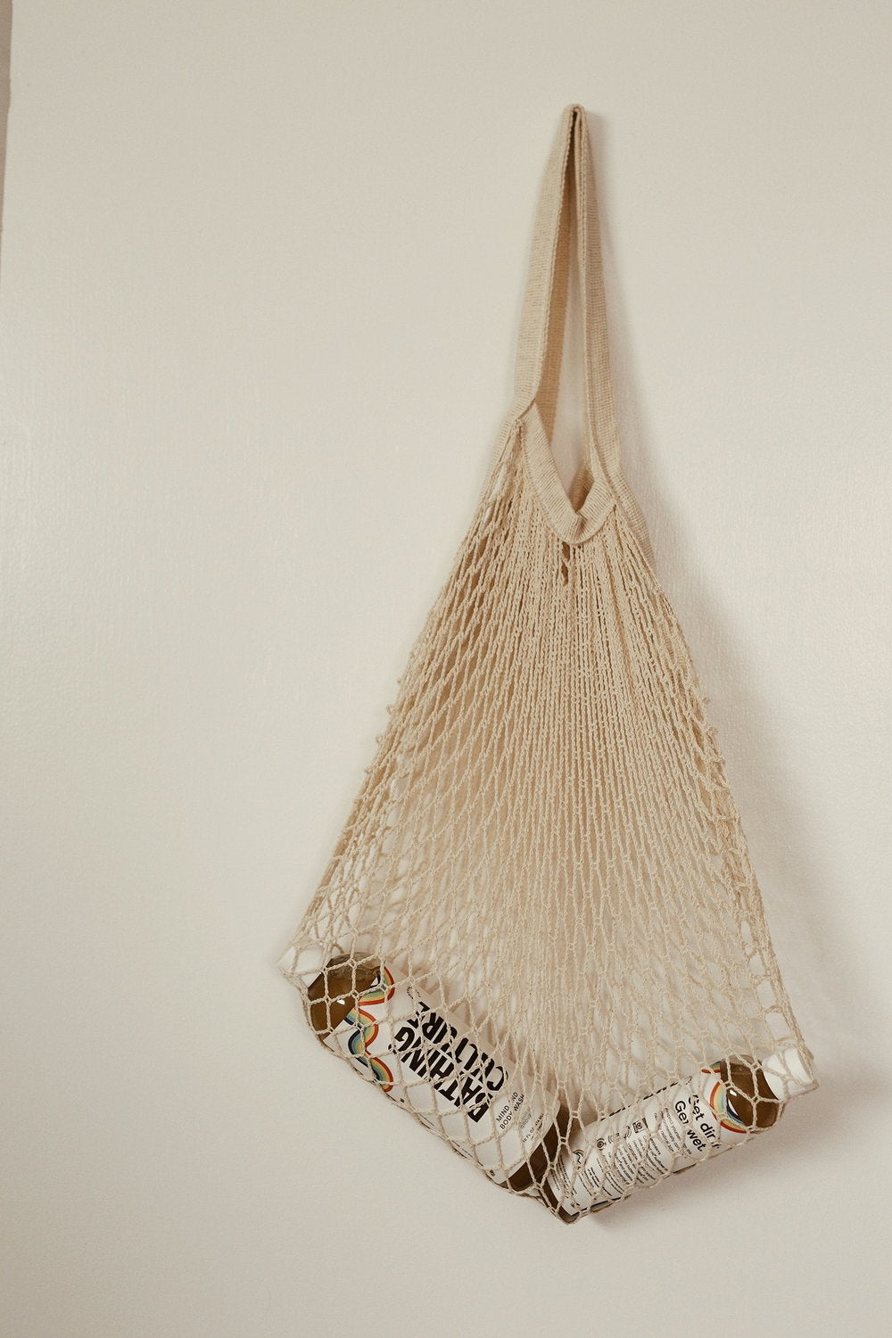Netted Organic Cotton Market Bag