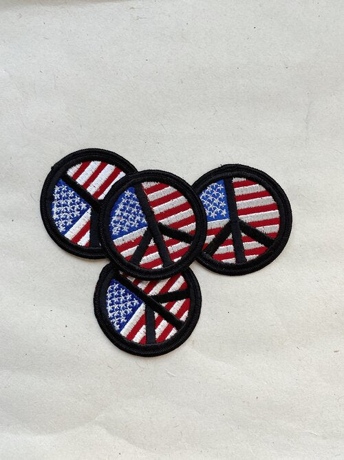 Vintage Peace for the USA Patch