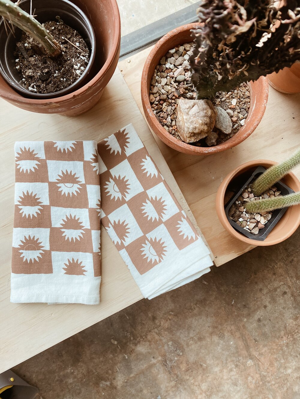 100% Linen Sunrise Napkins
