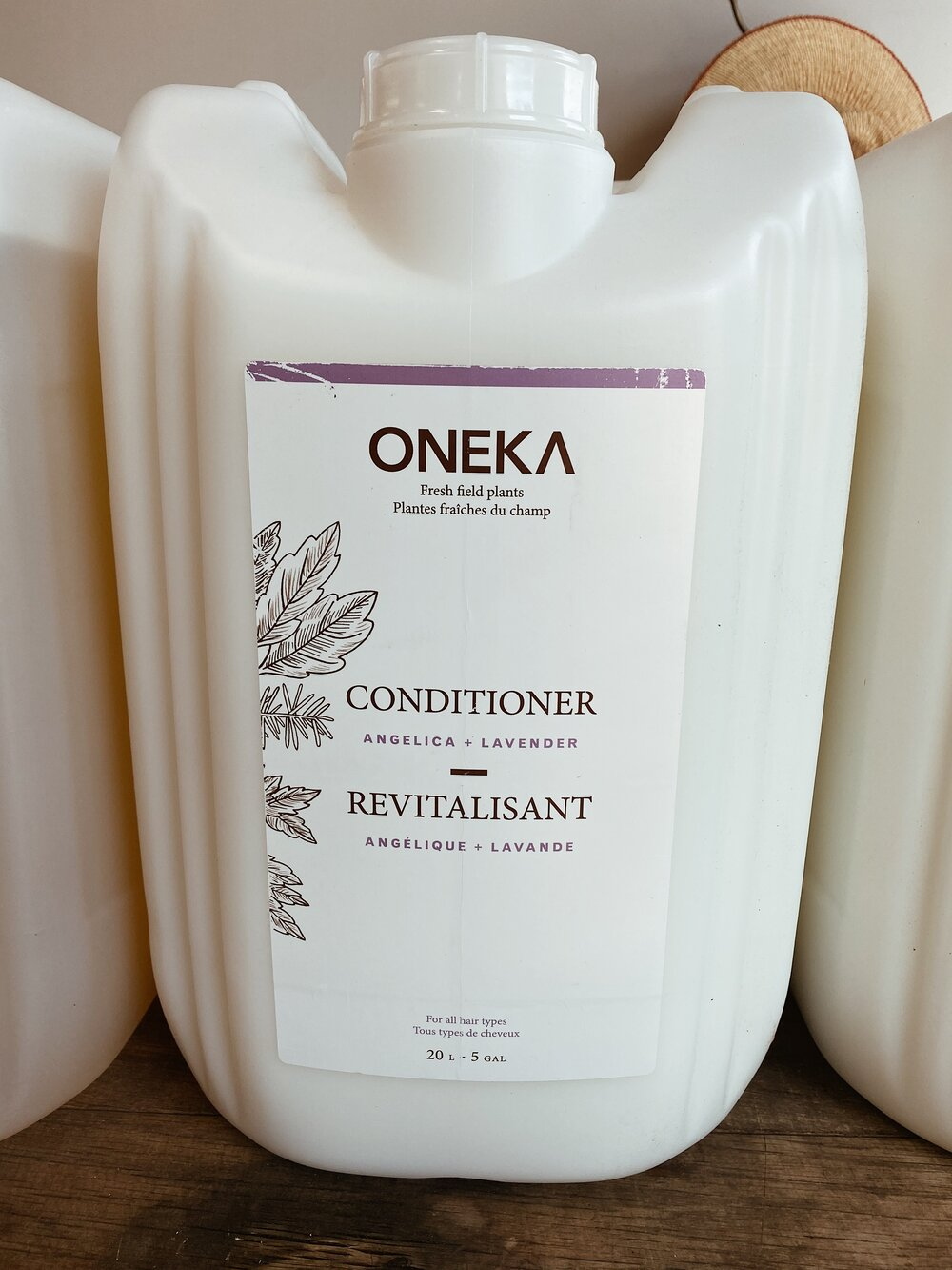 Angelica + Lavender Shampoo/Conditioner Organic Fill Station