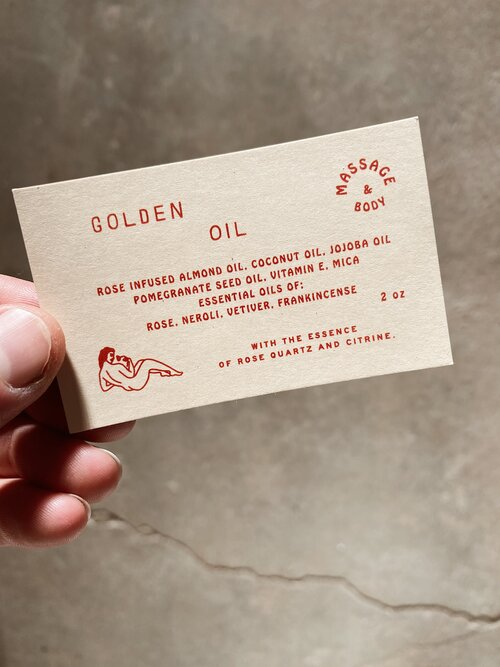 Golden Oil Body+Massage