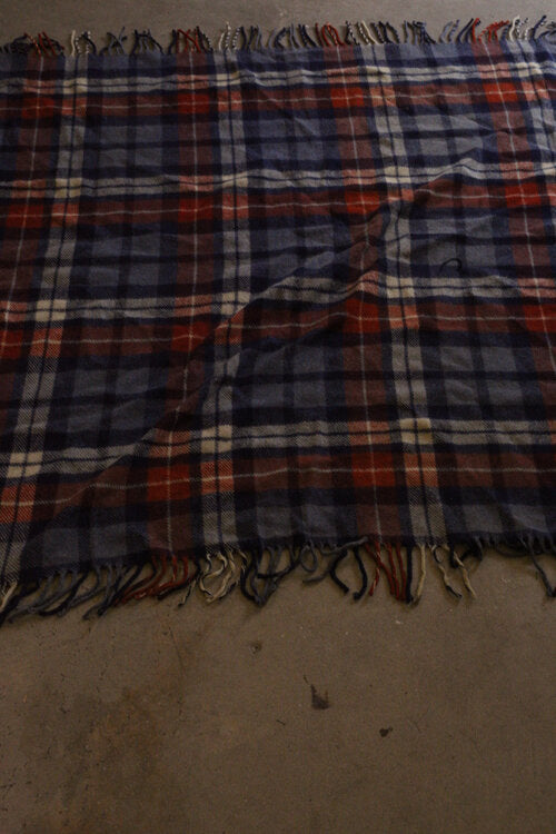 Vintage Plaid Blanket