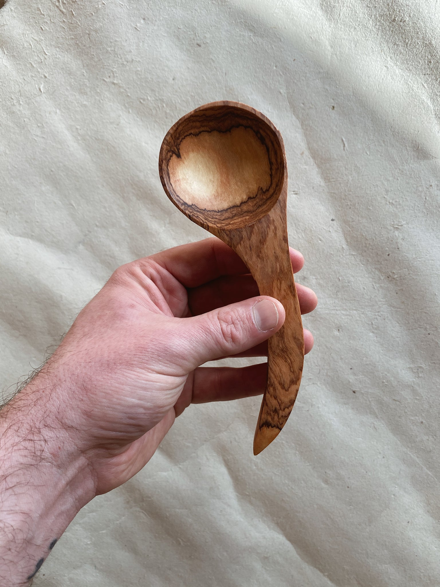 Handmade Fair Trade Olive Wood Spoons for Every Occasion