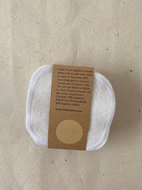 Reusable Organic Bamboo Facial Rounds