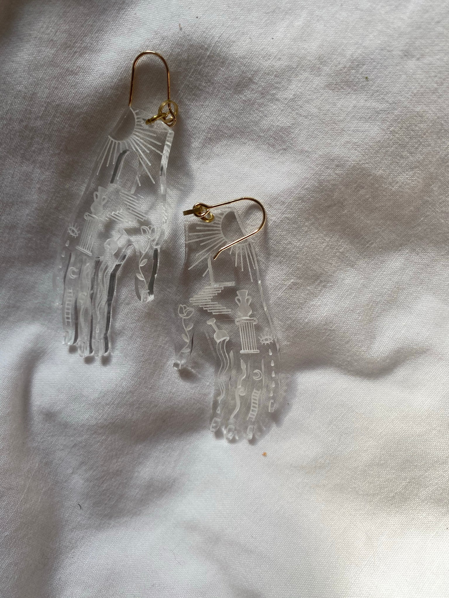 While Odin Sleeps Earrings