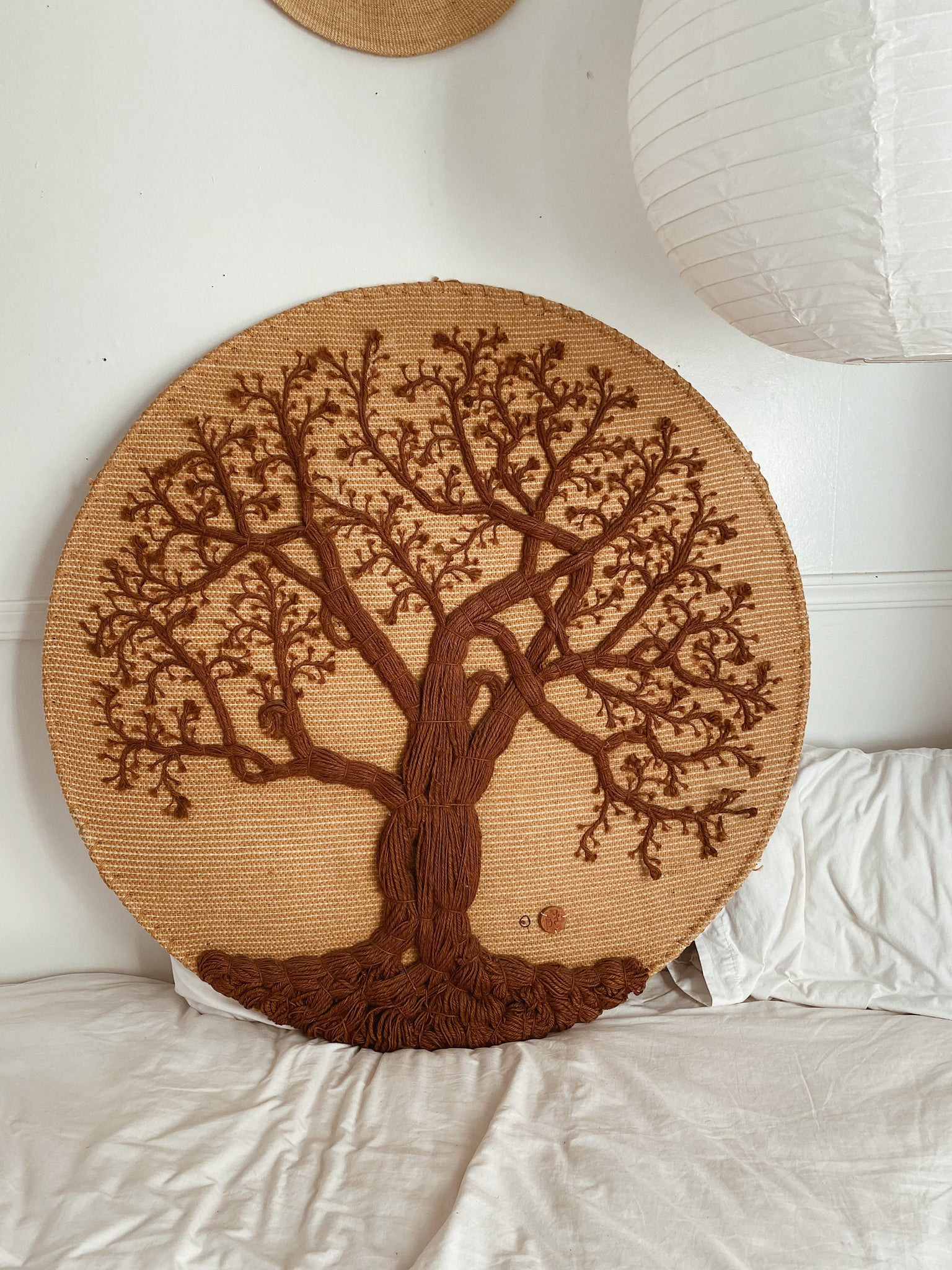 Giant Vintage Don Freedman Tree Wall Hanging